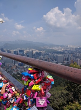 Love Locks at N Seoul Tower