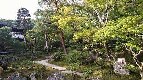 Ginkaku-ji Zen temple and garden